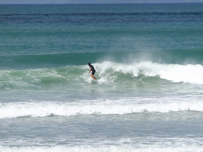 Whangamata on the Coromandel is the surf capital of NZ