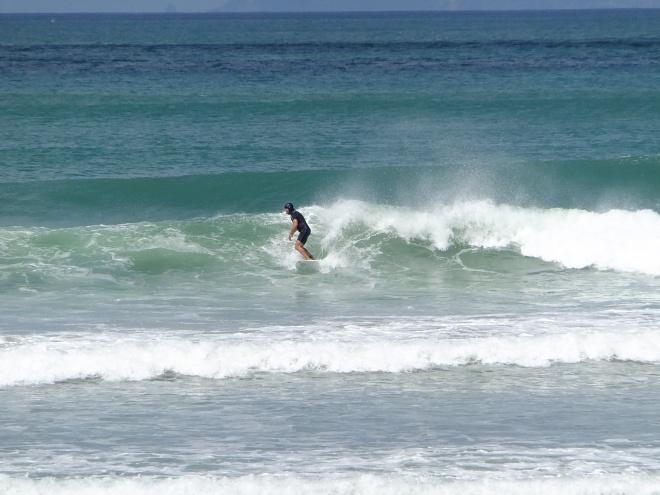 Whangamata on the Coromandel is the surf capital of NZ