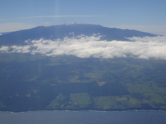 Mauna Kea-Hawaii's highest peak at 13,803 feet