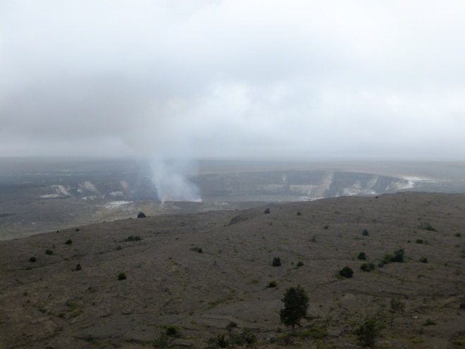 Halema'uma'a- a crater within a crater