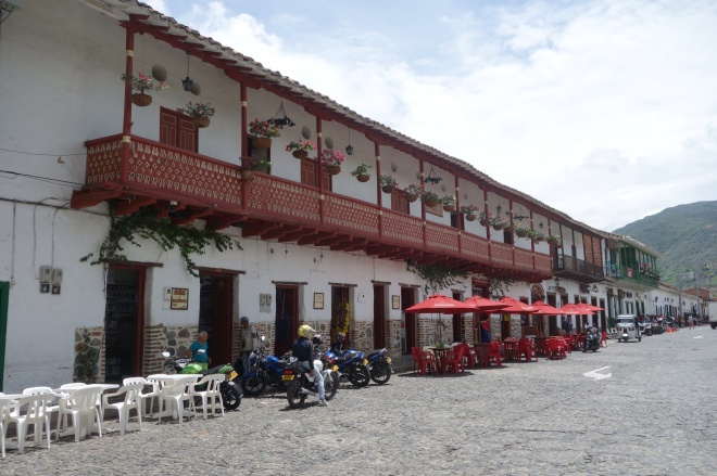 Colonial architecture in Santa Fe de Antioquia