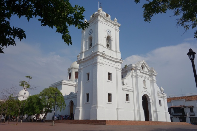 The first cathedral built in the Americas