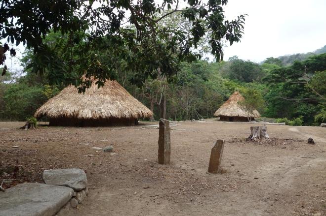 Pueblito huts