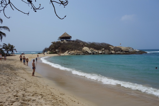 Cabo San Juan in Tayrona National Park