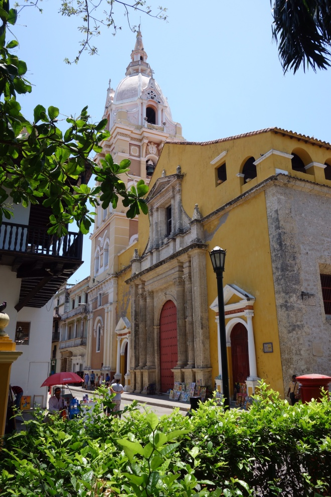The Cathedral of Cartagena