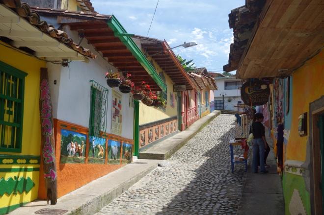 street in guatape