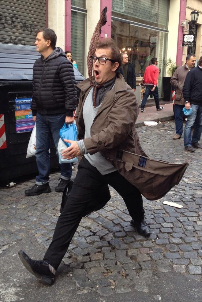 Street 'performer'