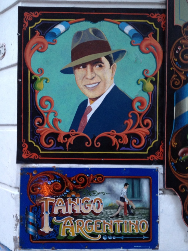 Tango which originated in Argentina and Carlos Gardel was one of the most prominent figures